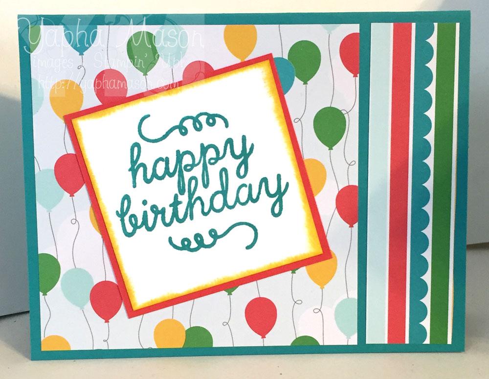 Happy Birthday by Yapha
