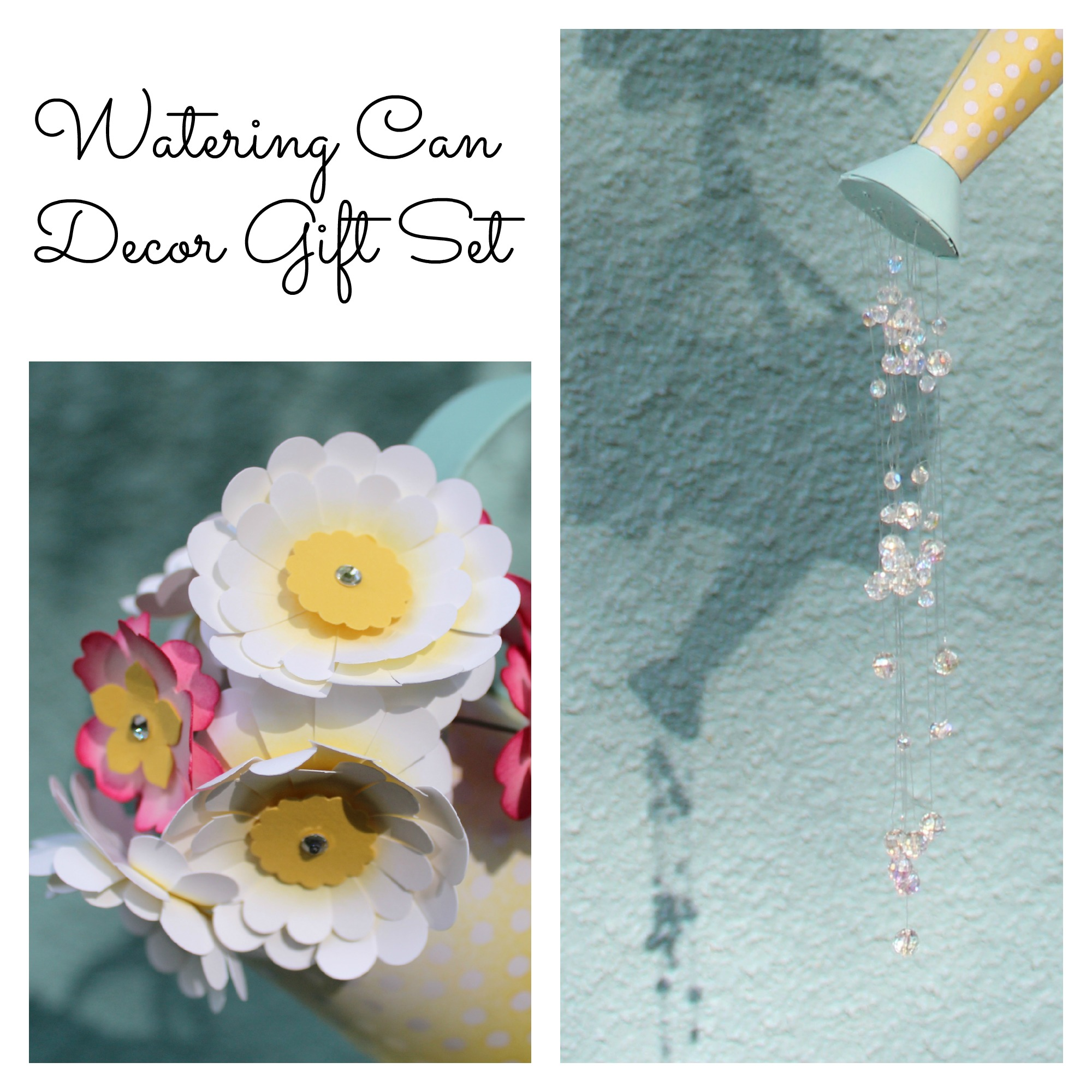 Watering Can Decor Gift Set SP