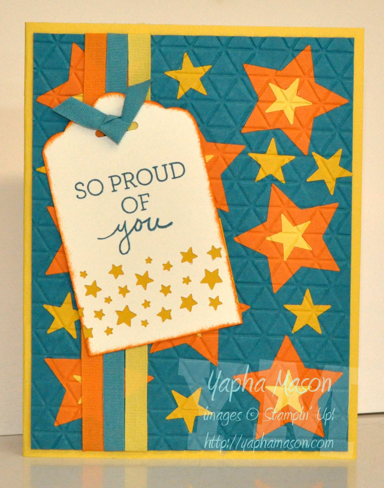 So Proud of You Card by Yapha
