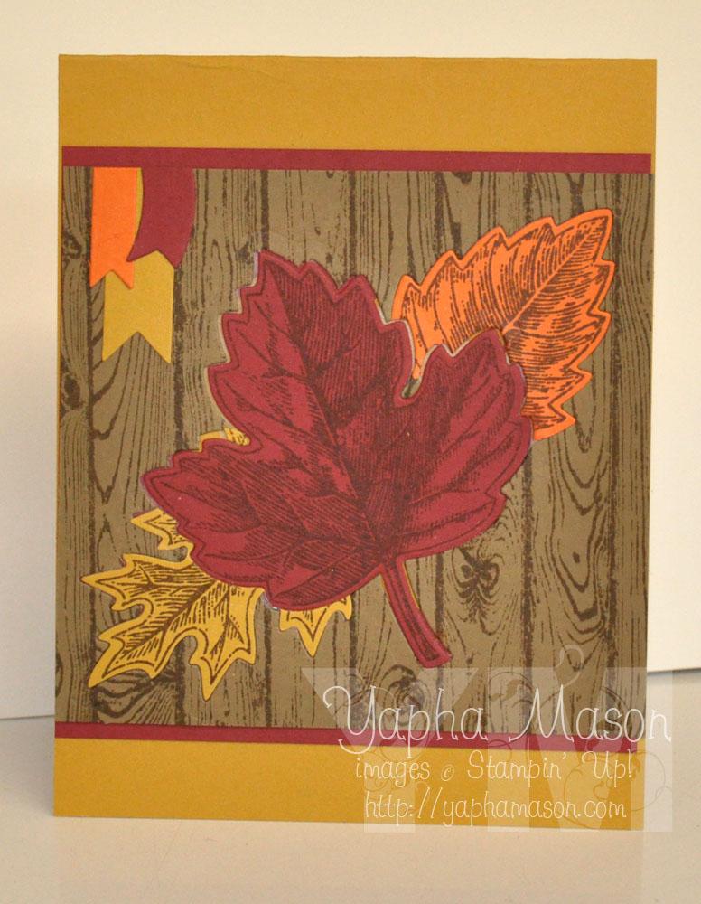 Vintage Leaves by Yapha
