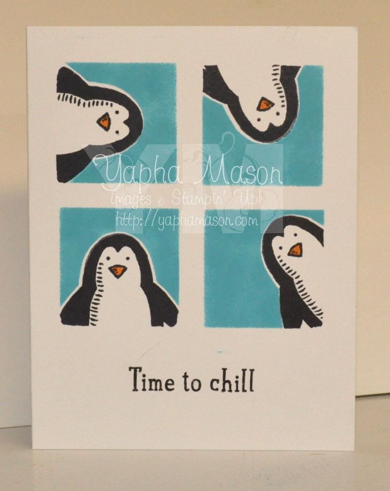 Peeking Penguins by Yapha