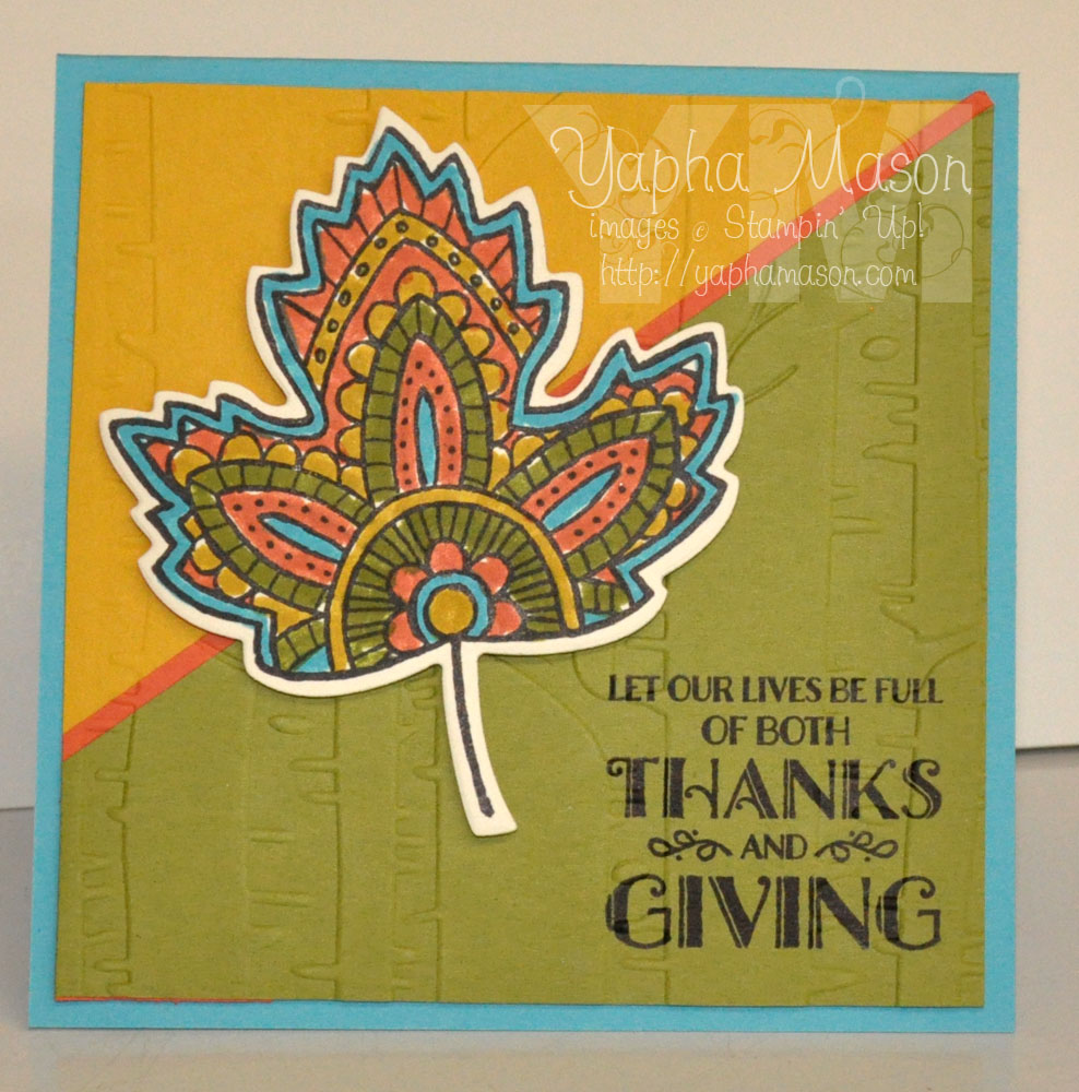 Thanks & Giving Mosaic by Yapha