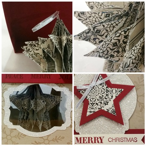 Honeycomb Star Ornament Gift Set SP