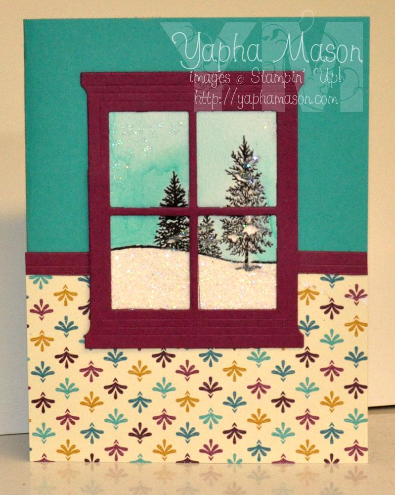 Winter Window by Yapha