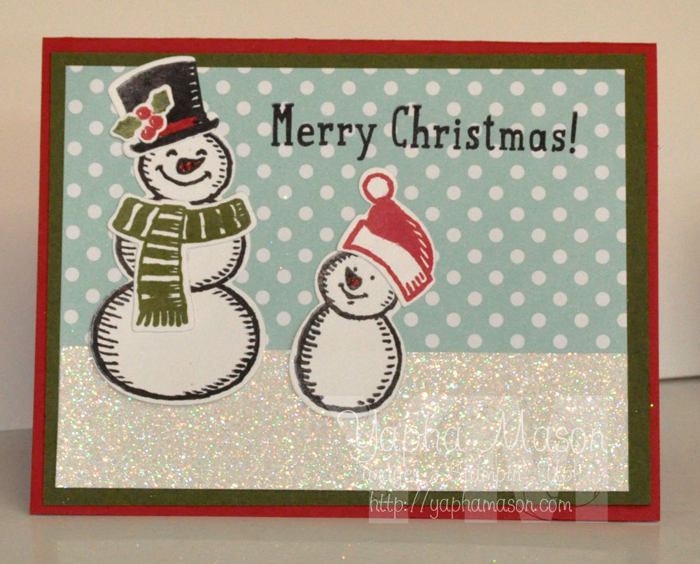 Snowman Merry Christmas by Yapha