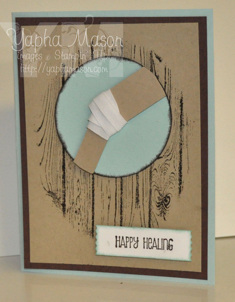 Knee Replacement Card by Yapha
