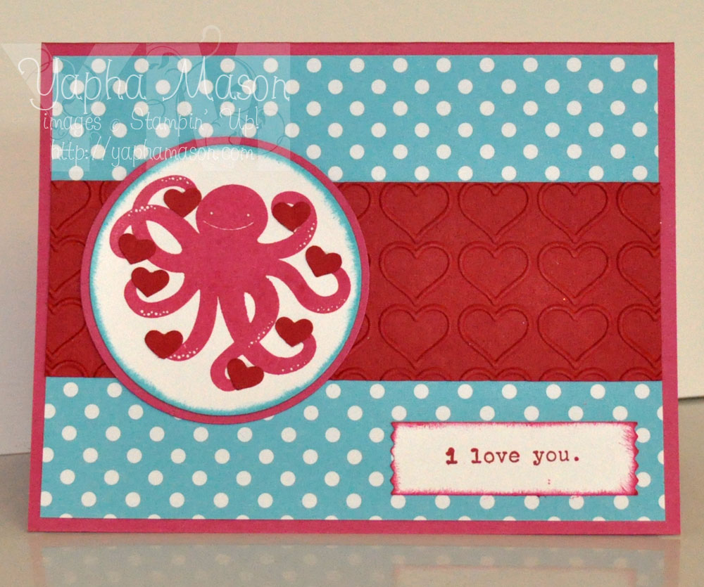 Octopus Valentine by Yapha