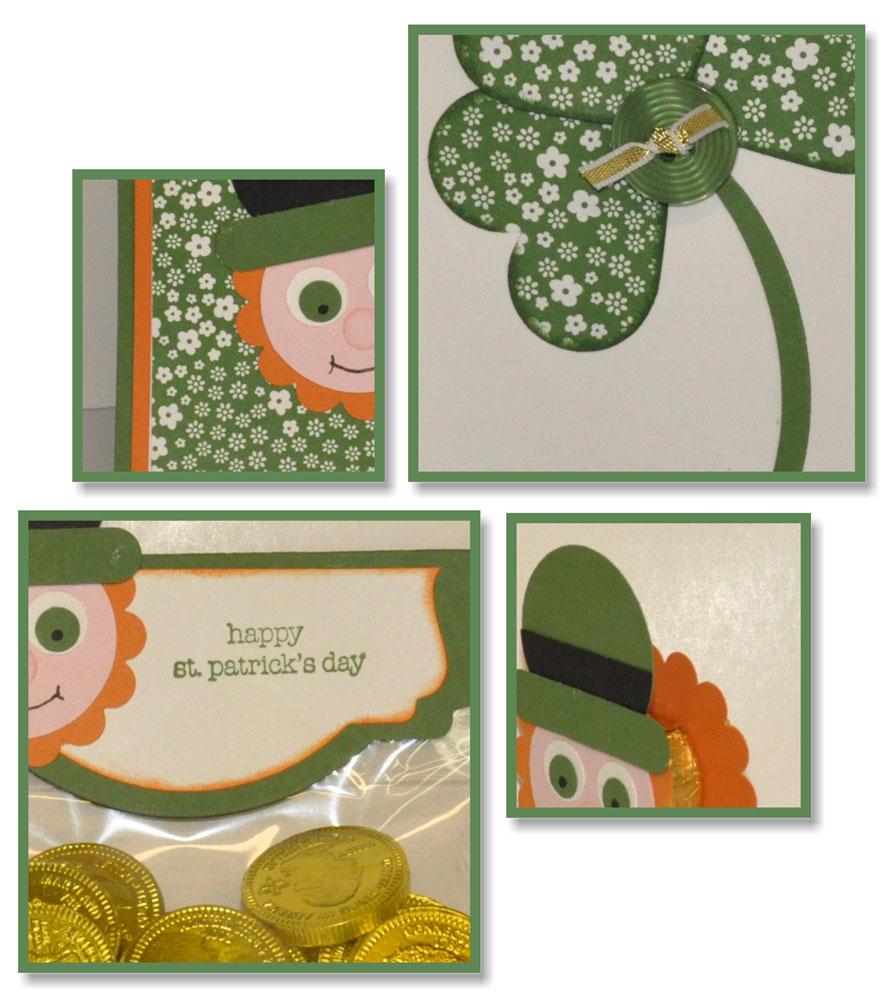 St Patricks Day Punch Art Leprachauns SP