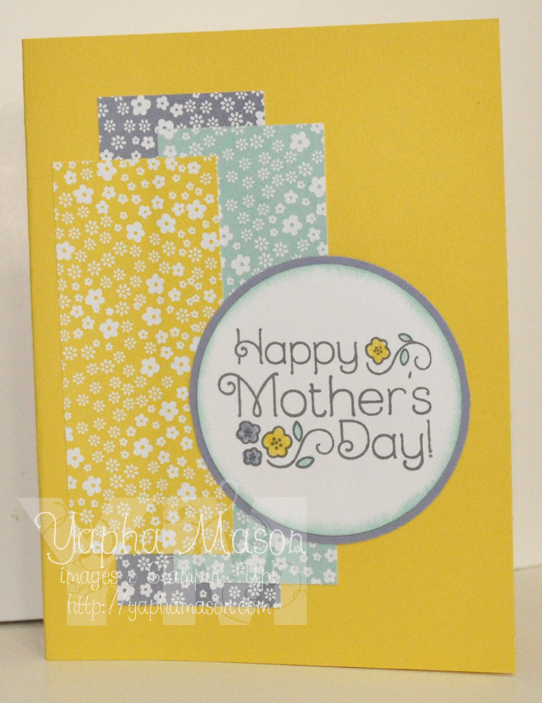 Yellow Mother's Day by Yapha