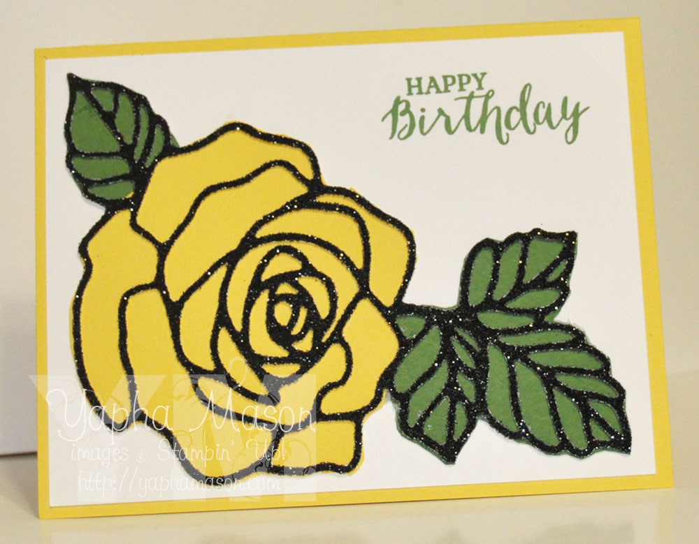 Yellow Rose by Yapha
