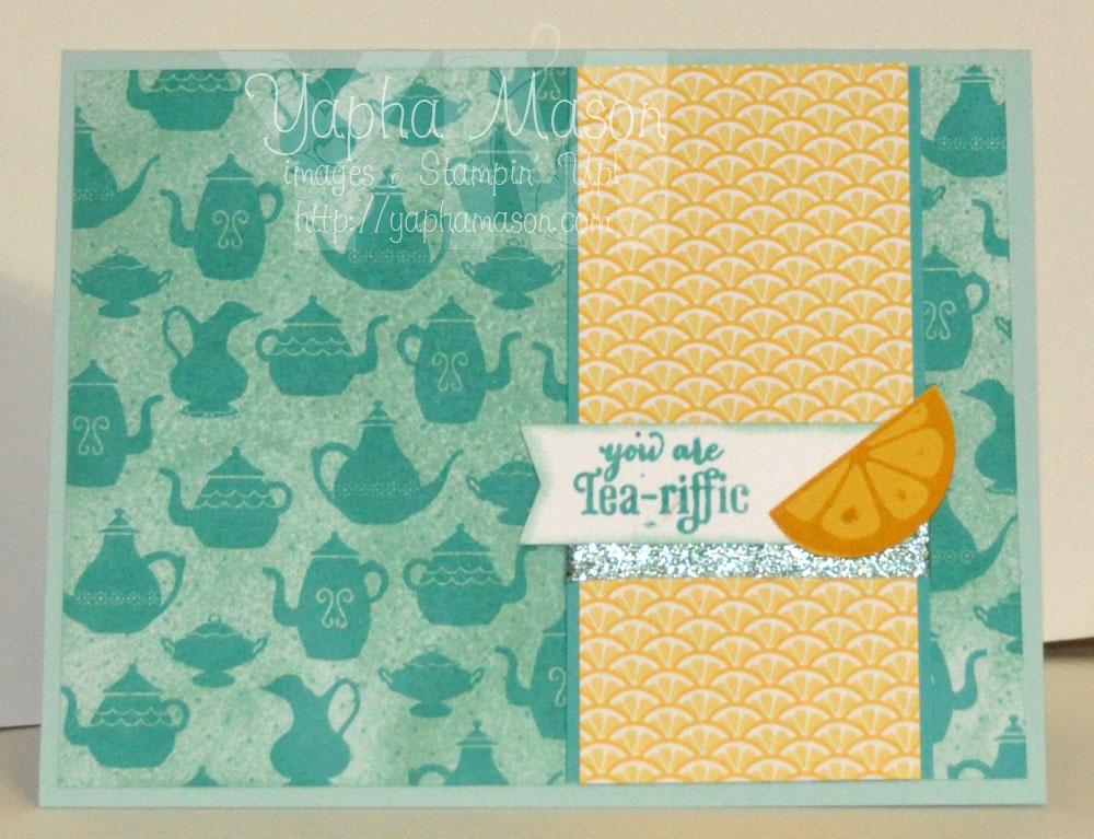 Tea-riffic by Yapha