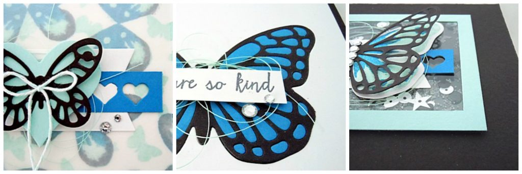 Butterfly Card Set & Shaker Box SP
