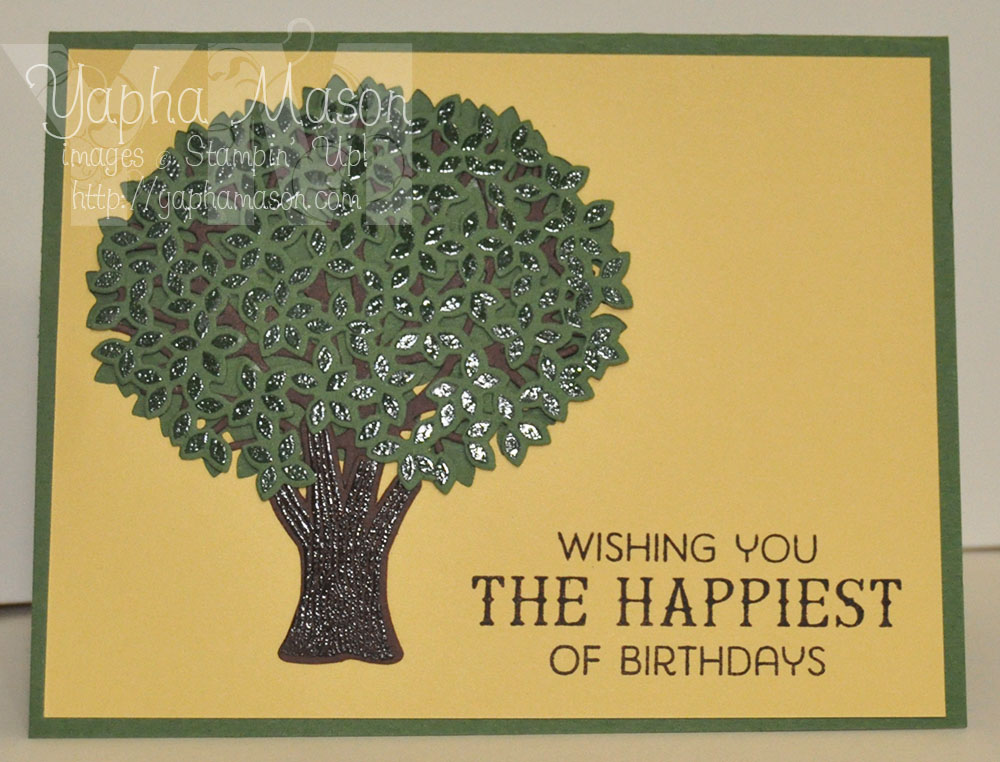 Thoughtful Branches Birthday Card by Yapha