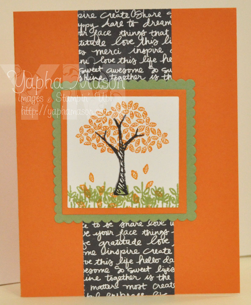 Fall Tree by Yapha