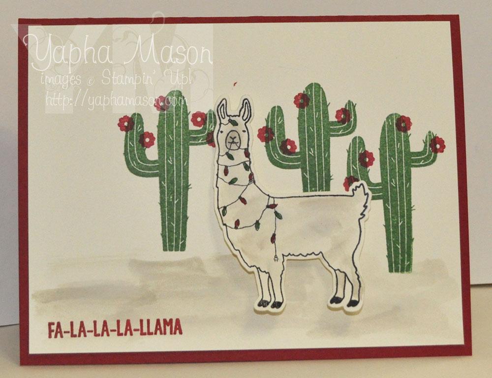 Holiday Llama by Yapha