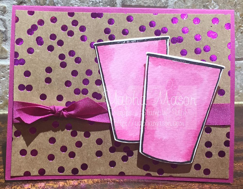Berry Burst Plexus Card by Yapha