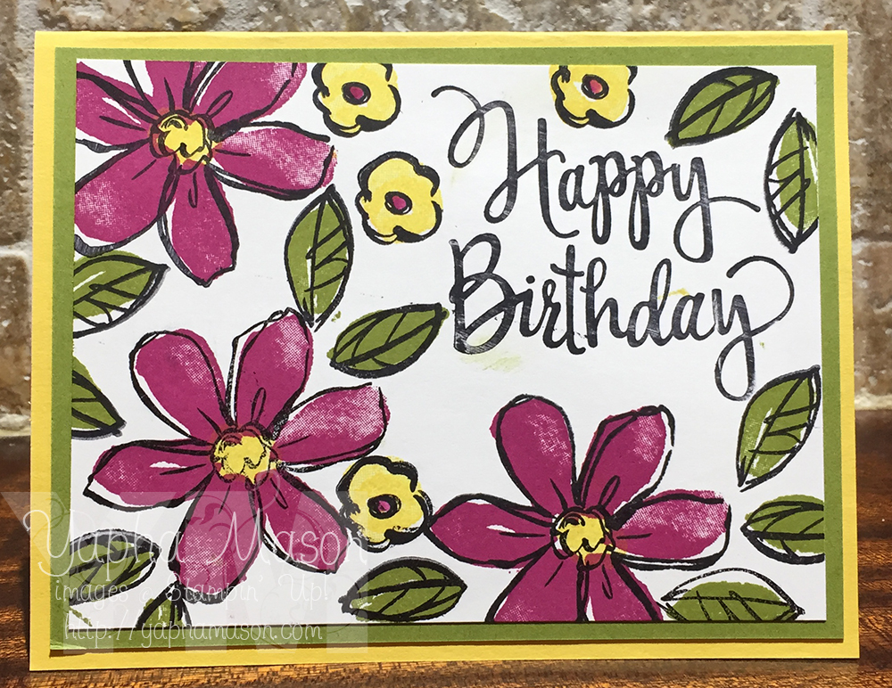 Garden in Bloom Birthday by Yapha
