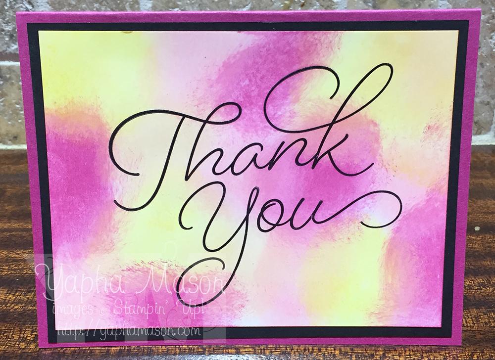 Bright Plexus Thank You by Yapha