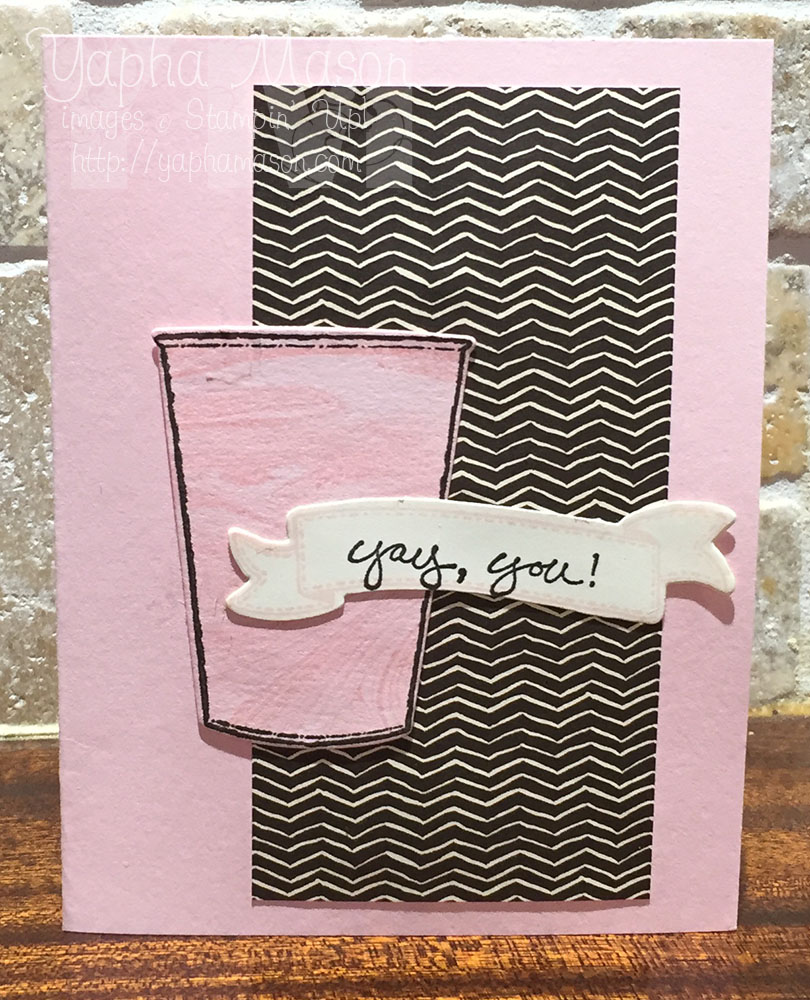 Yay You Cup of Pink