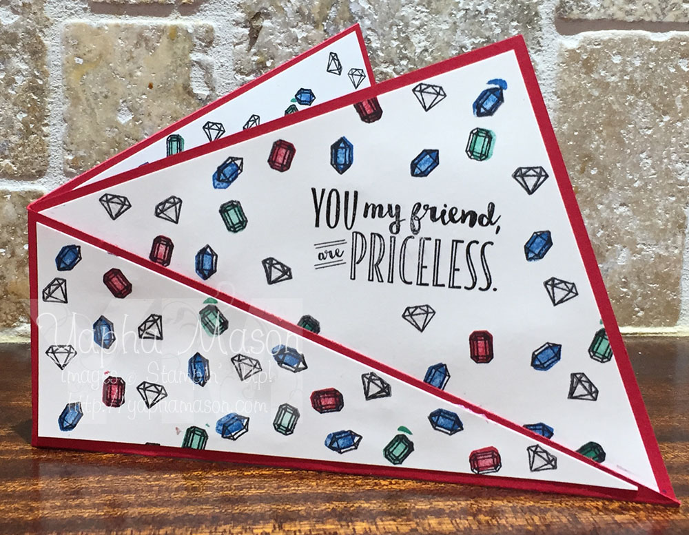 Priceless gift card holder by Yapha