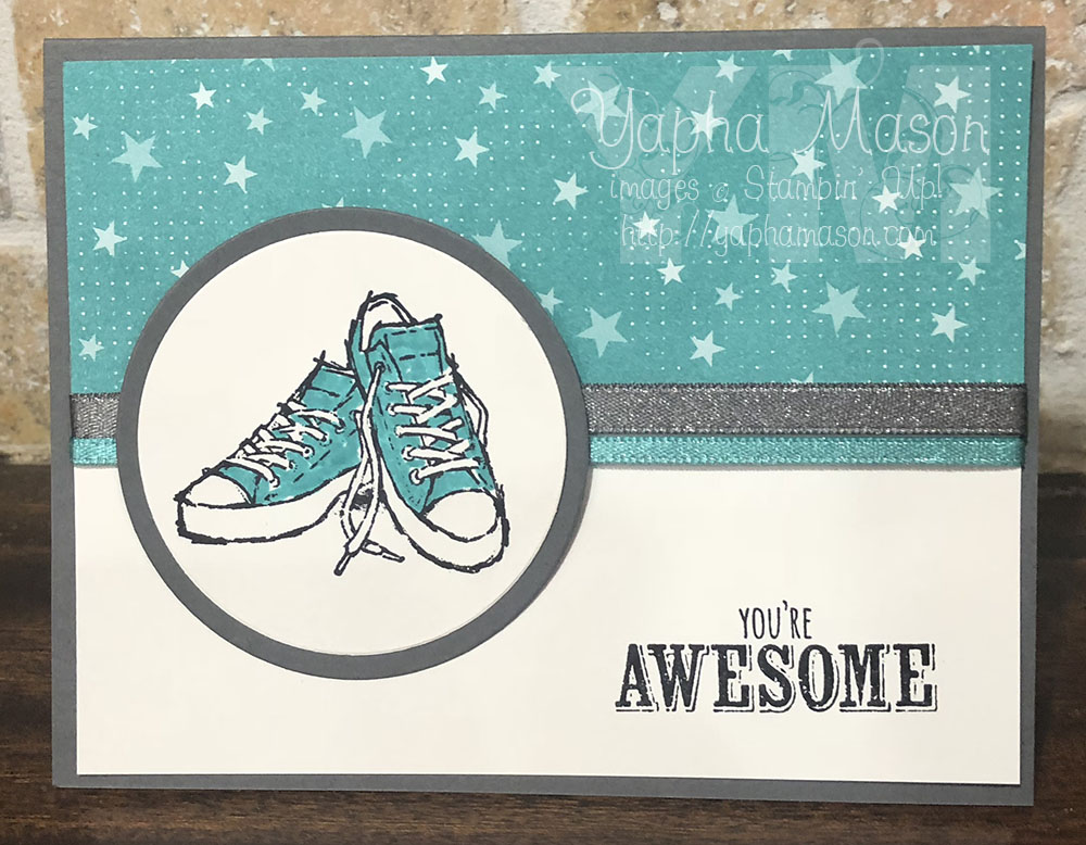 You're Awesome Chuck Taylor Sneakers by Yapha