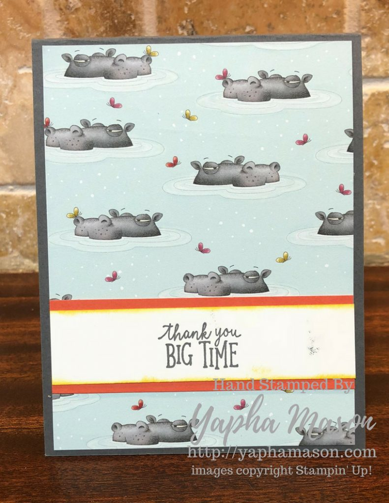 Hippo Thank You by Yapha